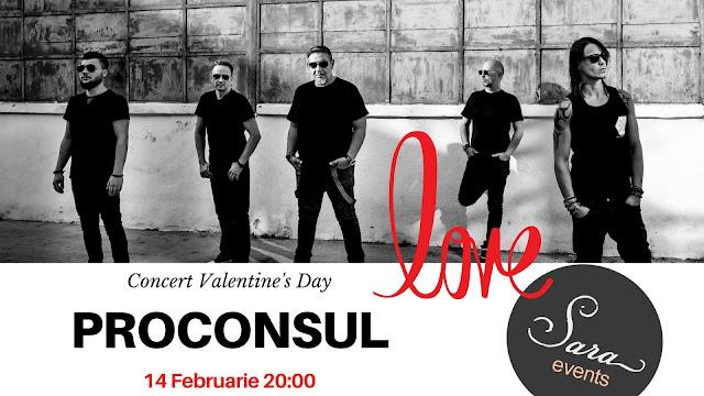Concert Proconsul la Timisoara de Valentine's Day