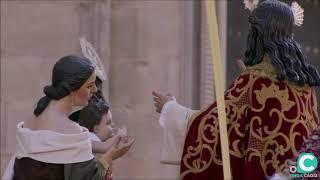 Nuestro Padre Jesús de la Paz entrando en la SI Catedral. Semana Santa Cádiz 2019