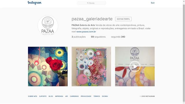 Pazaa\Galeria de Arte no Instagram