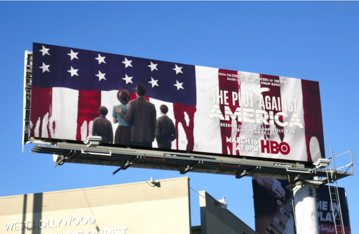 Plot Against America series premiere billboard
