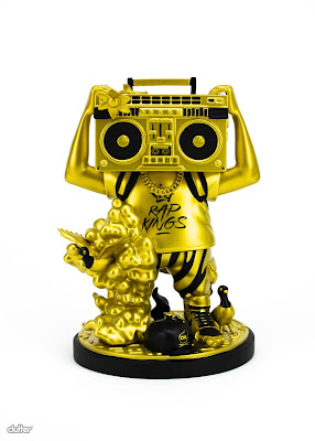 Tenacious Toys Rap Kings GOONBOX Gold Edition 7 inch vinyl art toy