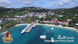 Honeymoon Destinations US Virgin Islands the parrot club