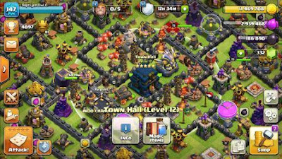 town hall 12 game clash of clans