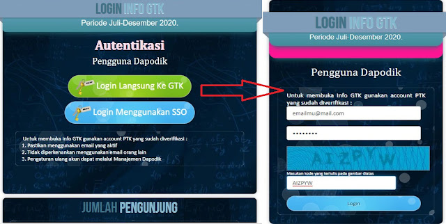 Cara Cek validasi info GTK tanpa SIM PKB