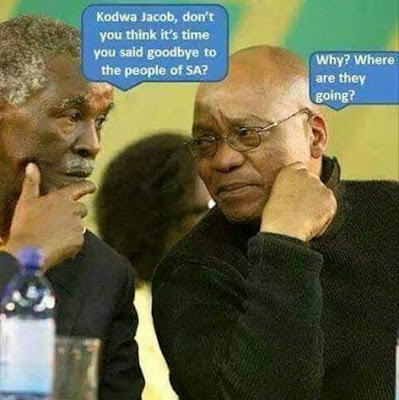 Jacob Zuma - time to say goodbye picture
