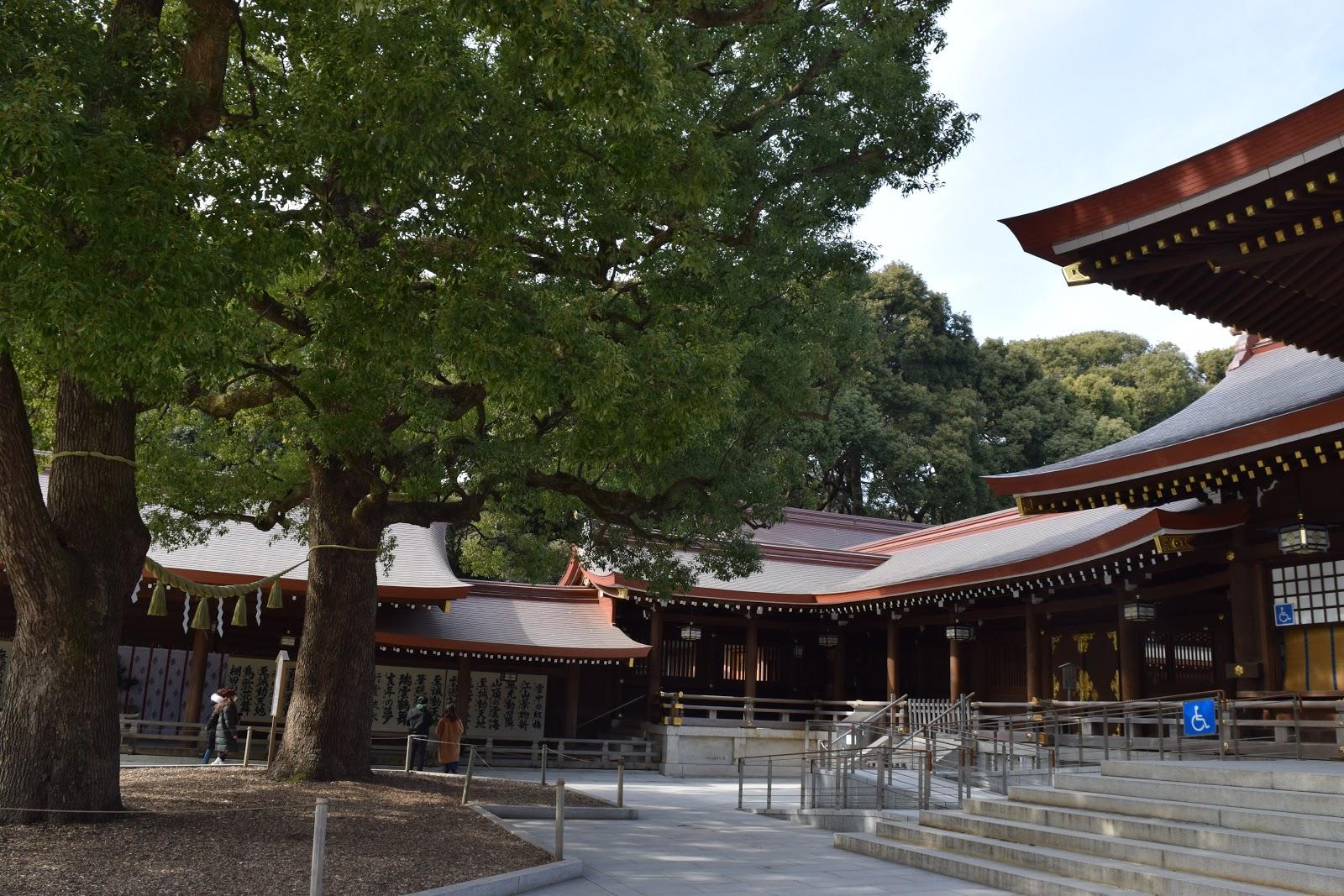Meiji Jingu shrine in Shibuya