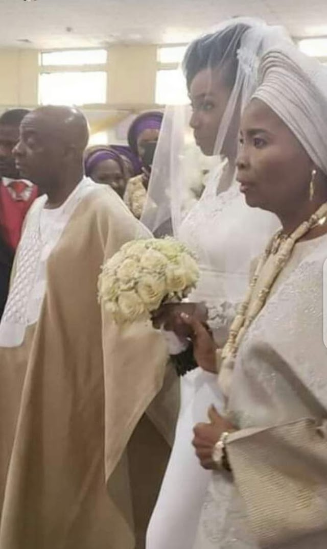 Bishop David Oyedepo's Daughter Gets Married Today