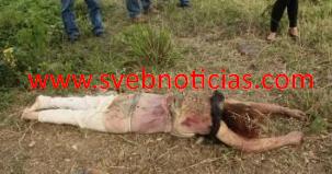 Hallan cuerpo de mujer con señas de violencia en Tihuatlan Veracruz