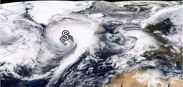 عاصفة جد  قوية قرب الشمال الأطلسي تحمل أمطار قوية ورياح عاتية وهذا ما ستسببه للمغرب