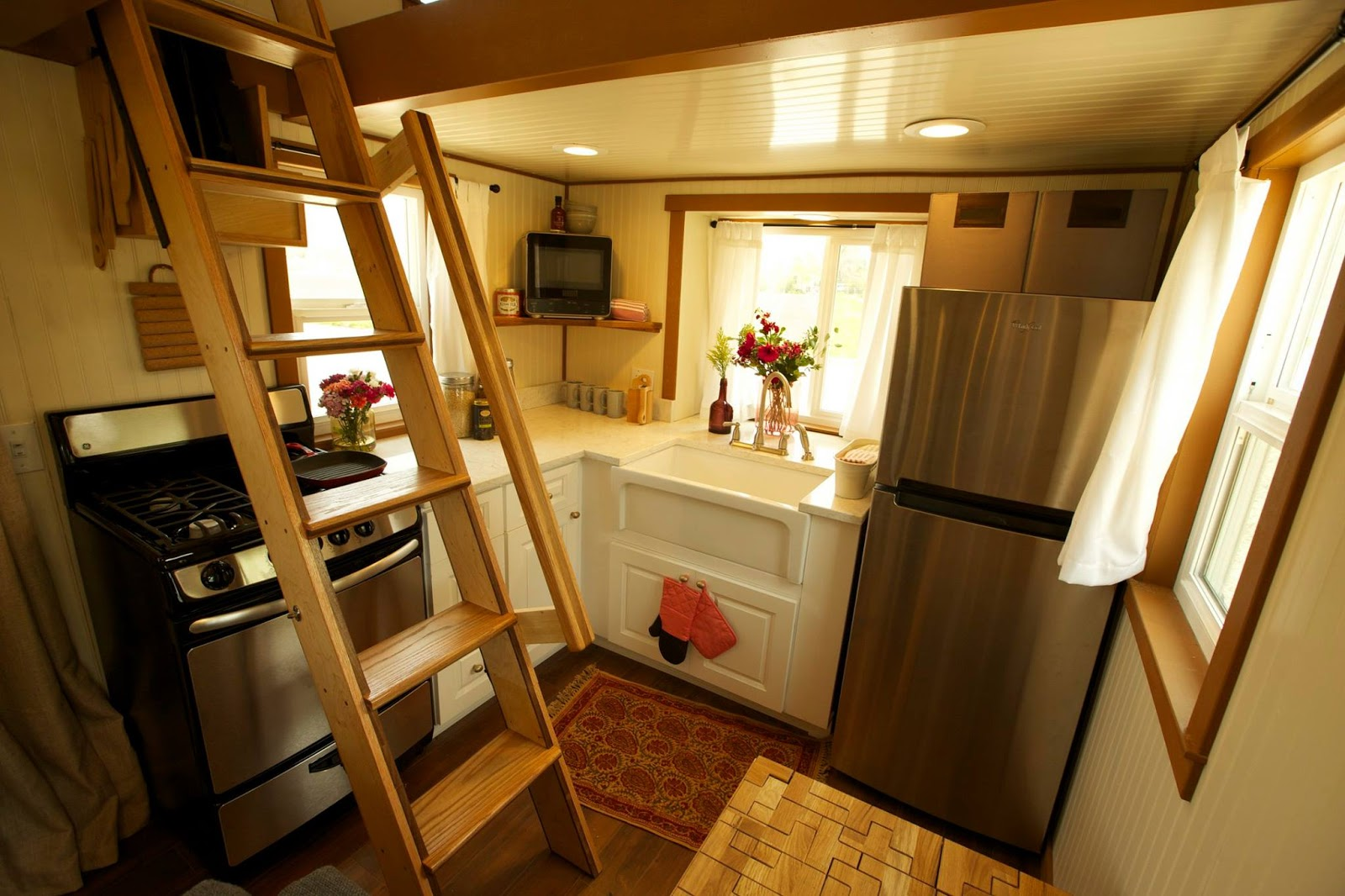 Tiny House Town The 200 Sq Ft Family Tiny Home