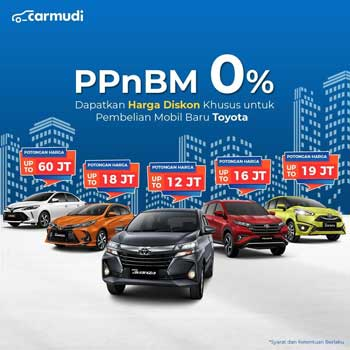 potongan PPNBM Toyota Jakarta
