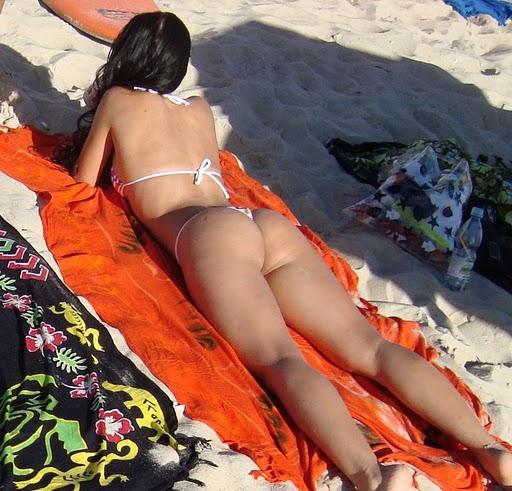 voyeur na praia