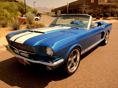 1966 Ford Mustang GT 350 Sport Convertible Front Left