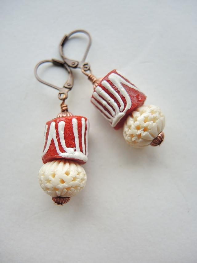 DIY oorbellen/earrings 'Oona'