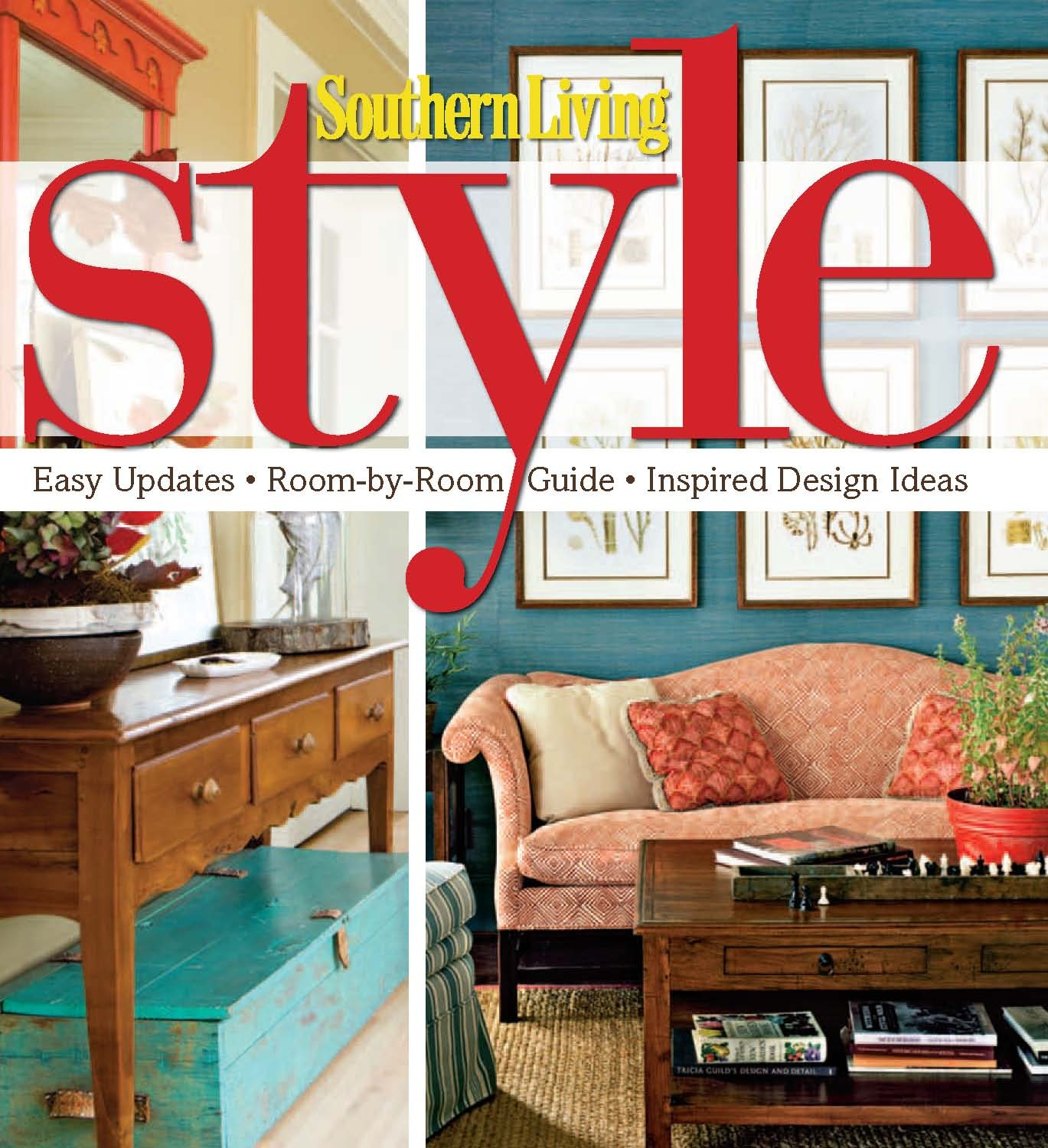 Southern Style Decorating Ideas From Southern Living: The Shabby Nest: Southern Living Style~