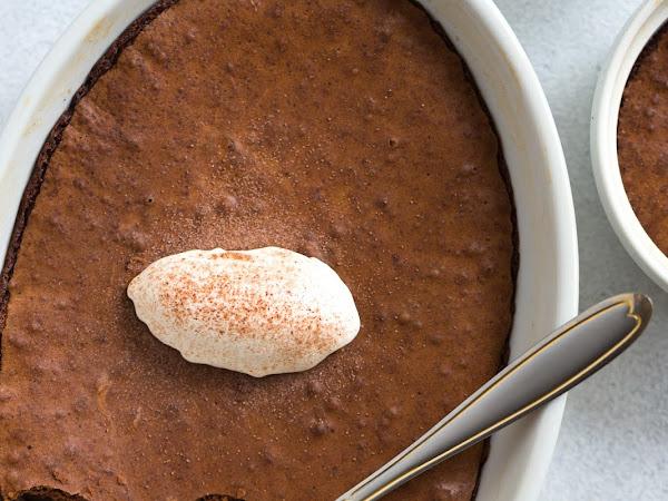 Рецепт брауни-пудинга из 5 ингредиентов