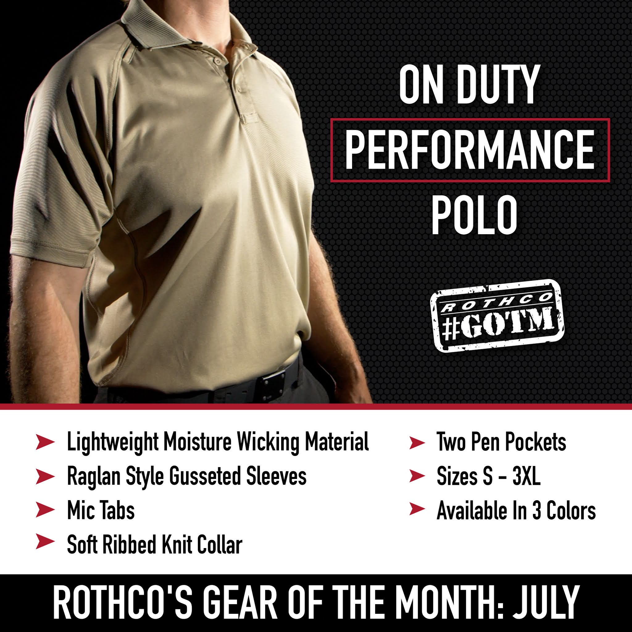 Meet Rothco s New Line Of Tactical Polo Shirts