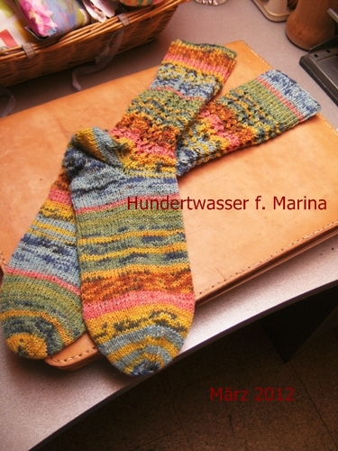 Von Herzen Gedacht Mit Liebe Gemacht Sockenprojekt Marz 2012