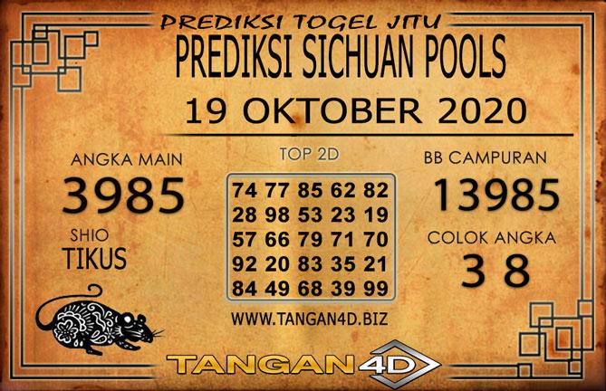 PREDIKSI TOGEL SICHUAN TANGAN4D 19 OKTOBER 2020