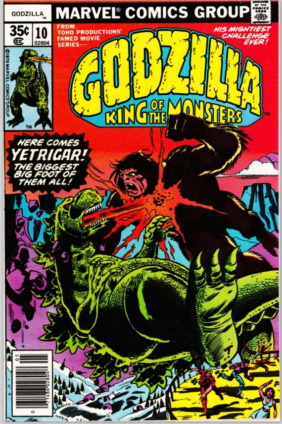 Godzilla #10 May 1978 Marvel Comics Grade F/VF $7.99