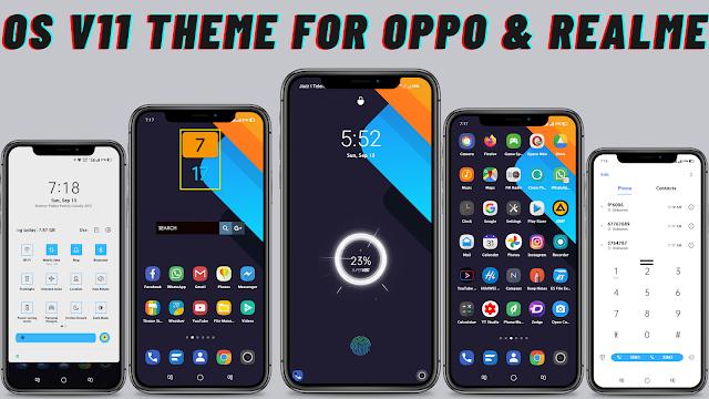 Chủ đề OS V11 cho Oppo và Realme || chủ đề oppo || chủ đề realme ||