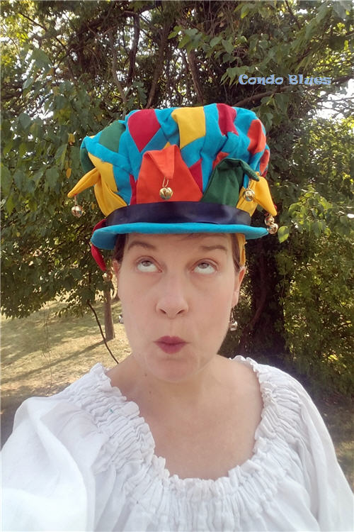 how to sew a jester hat