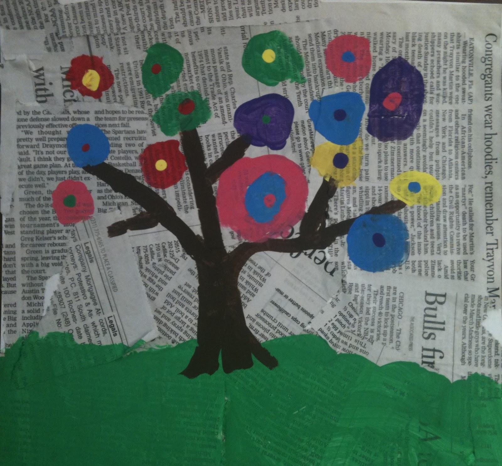 Kadinsky S Earth Arbor Day