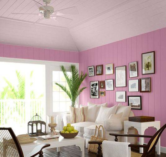 Vivid Hue Home: Sky's The Limit- Painted Ceilings