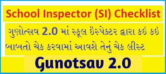 School Inspector check list