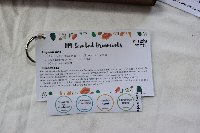 Review: Simply Earth - An essential oils subscription box (Plus a special offer)