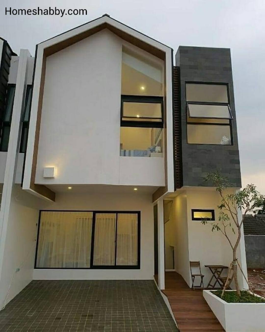 6 Desain Rumah Cluster Tanpa Pagar Yang Sedang Hits Homeshabby Com Design Home Plans Home Decorating And Interior Design