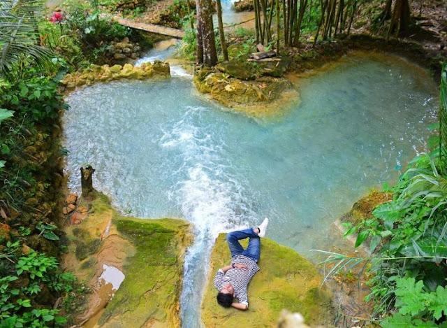Tempat Wisata Air Terjun Curug Kuncung Mas di Kulon Progo