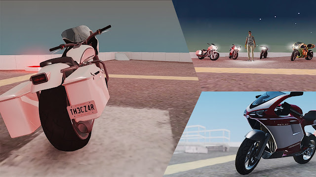 GTA San Andreas Super Bikes Mod Pack