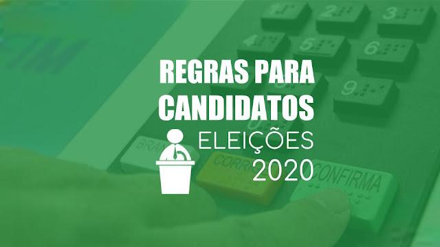 Resultado de imagem para eleições 2020 regras