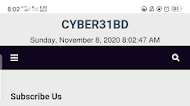 CYBER31BD Full Original Blogger Template Download - with all plugin