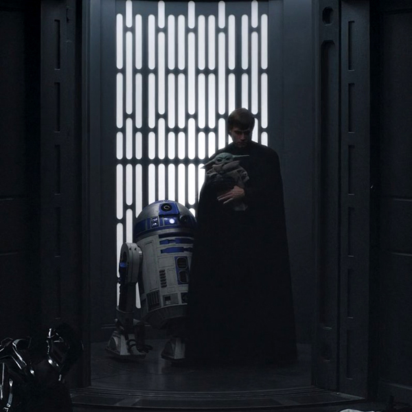 Luke Skywalker (Mark Hamill), R2-D2 and Grogu depart to begin Grogu's Jedi training in THE MANDALORIAN - Chapter 16: The Rescue.