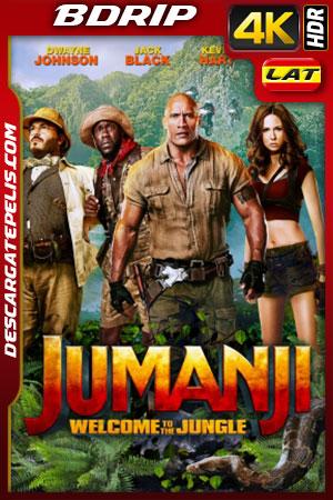 Jumanji: Bienvenidos a la jungla (2017) 4K BDRip HDR Latino – Ingles