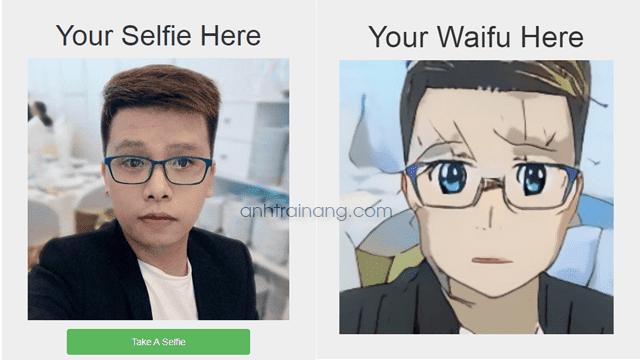 Chuyển đổi hình ảnh của bạn thành nhân vật Anime