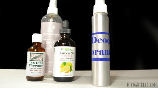 Easy DIY Deodorant