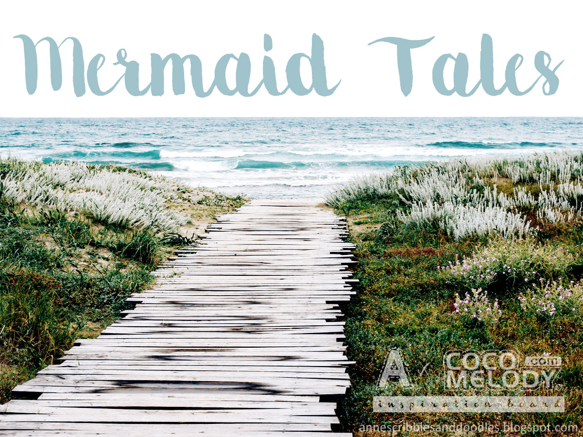 Mermaid Tales with Cocomelody: Beach Wedding Inspiration