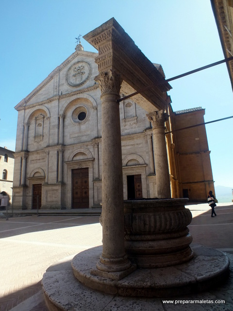 Pienza Toscana Italia