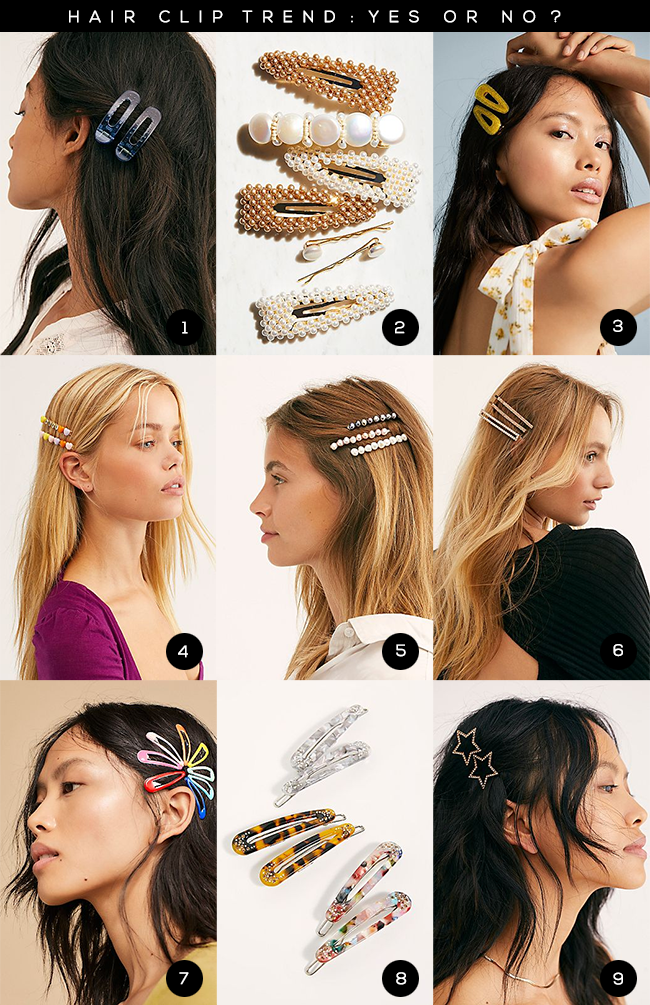 Hair Clip Trend: Yes or No?