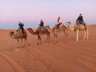 Merzouga Desert Camp Camel Ride