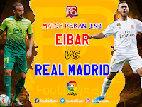 Match Prediction : Eibar vs Real Madrid
