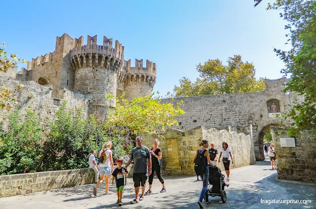 Cidade medieval de Rodes, Grécia
