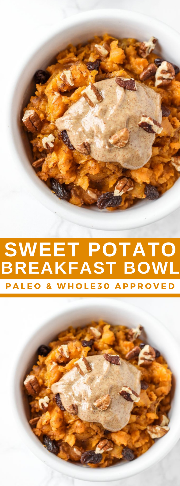 SWEET POTATO BREAKFAST BOWL #healthyrecipes #casserole