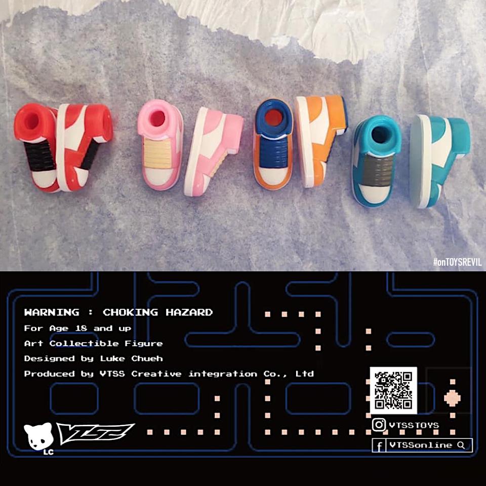 Pac Man Ghosts Edition Jiangshi By Luke Chueh X Vtss For