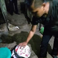 Kanit Reskrim Polsek Lemahwungkuk Cek TKP Tindak Pidana Curat Pasar  Kanoman Cirebon