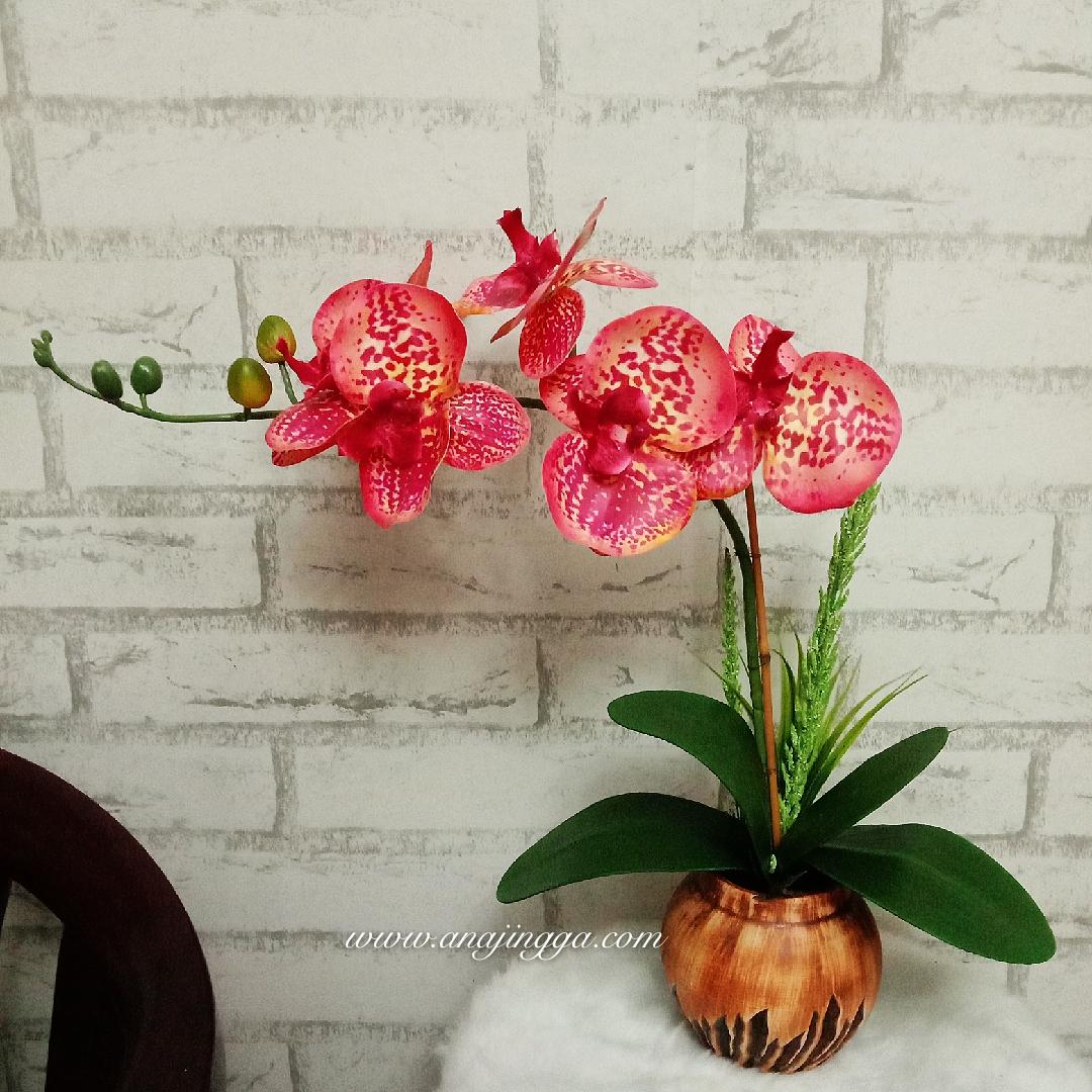 Cara Gubah Bunga Orkid