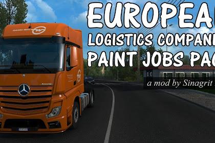 European Logistics Companies Paint Jobs Pack v1.4